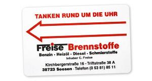 Tankkarte Tankstelle Seesen